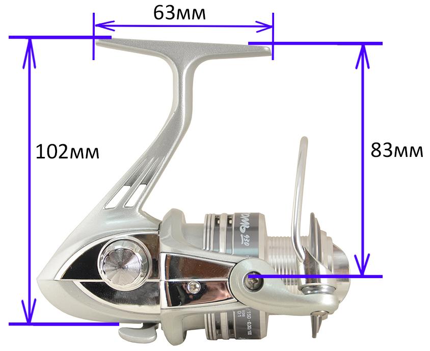Катушка ТОМЬ 930F (Рыболов)