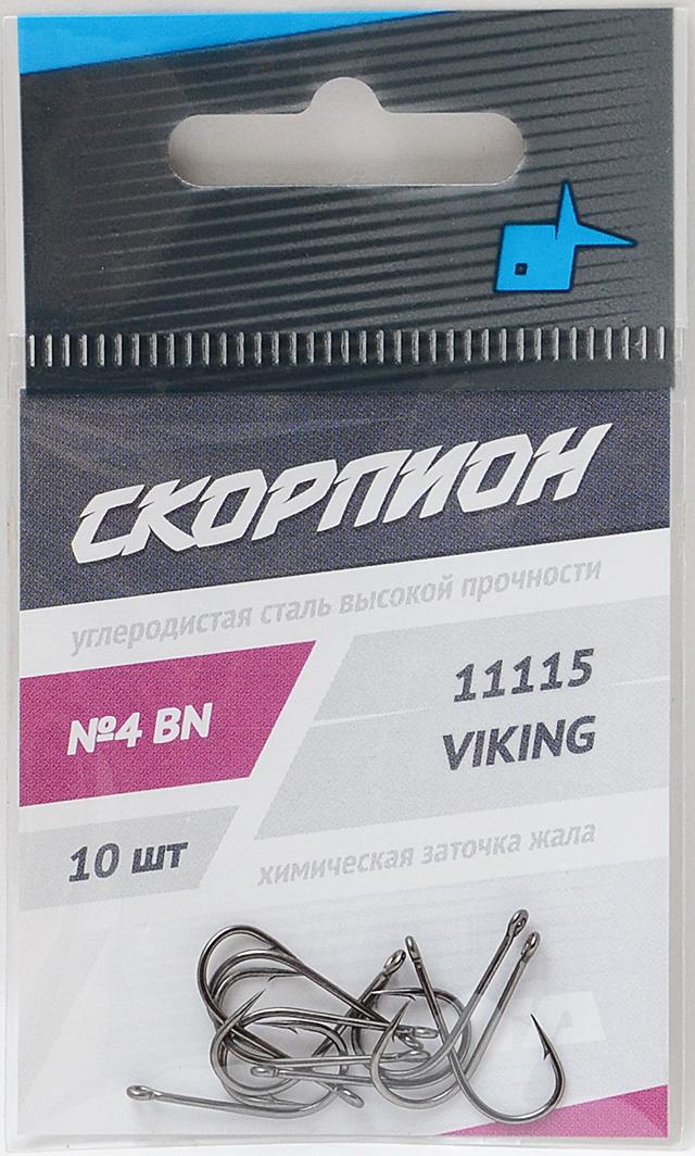 """Крючок """"Viking"""" (Скорпион), №4"""