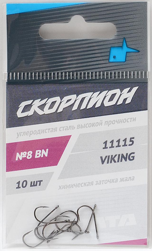 """Крючок """"Viking"""" (Скорпион), №8"""