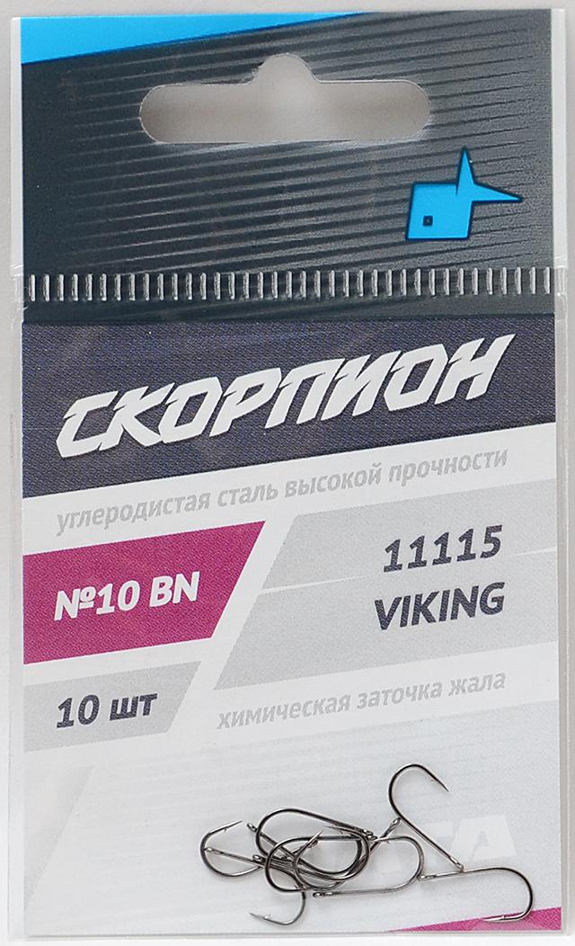 """Крючок """"Viking"""" (Скорпион), №10"""