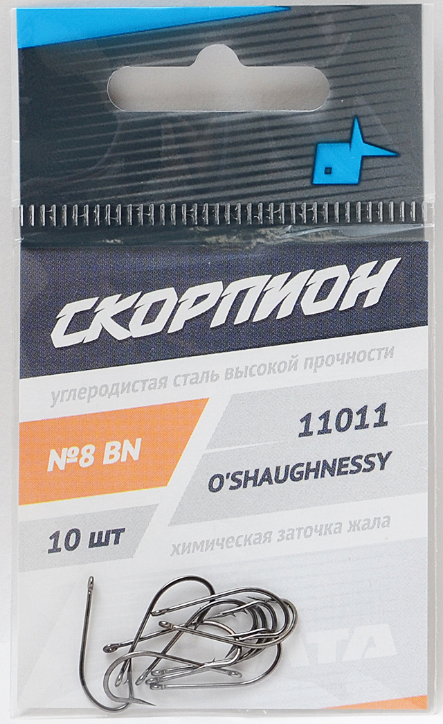 """Крючок """"O'Shaughnessy"""" (Скорпион), №8"""