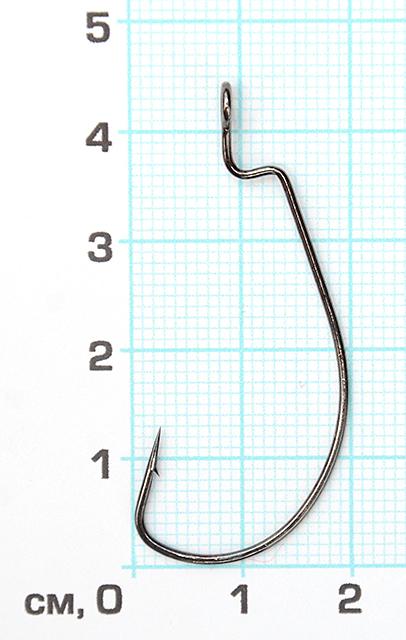 "Офсет ""Wide Range Worm Big Eye Ring"" (Cкорпион), №1/0"