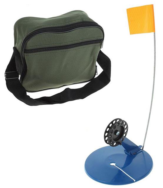 Набор жерлиц в сумке(ДИКС), 10шт