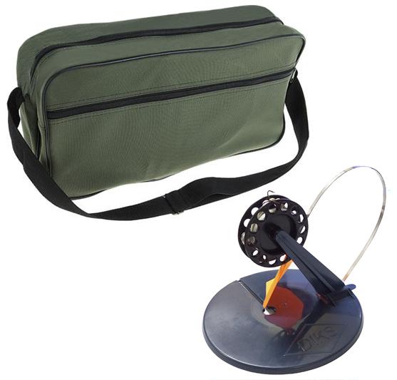 Набор жерлиц в сумке ЛИМАН d 200мм (10 шт)