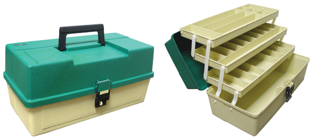 Ящик H-429 (Рыболов), 3 полки, 420х225х195мм