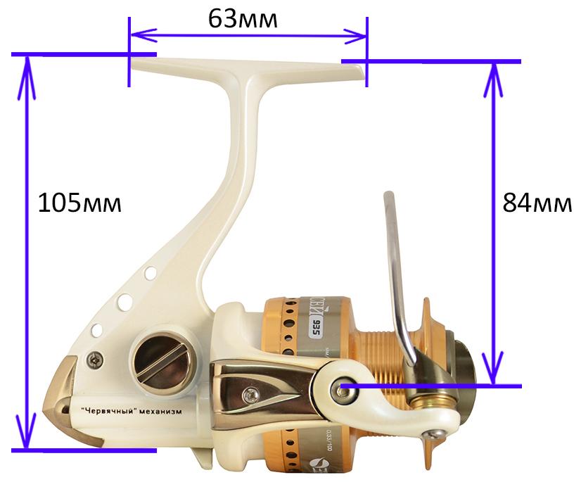 Катушка ЕНИСЕЙ 930F (Рыболов)