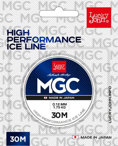 Леска Lucky John MGС (Salmo), 30м, 0.08мм