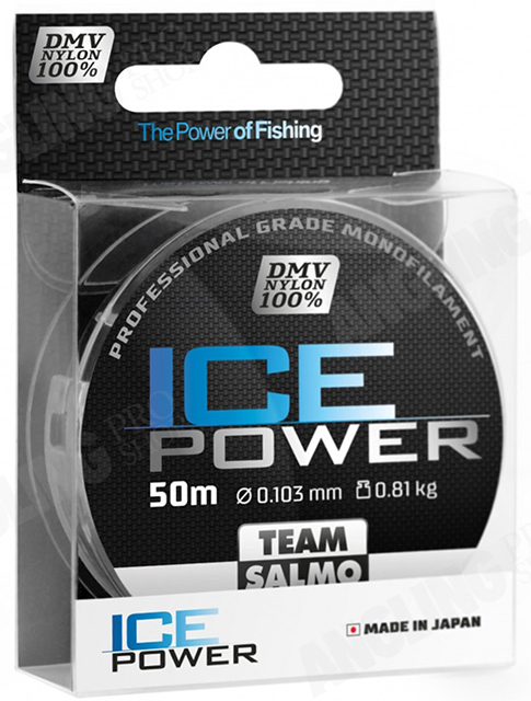 Леска Team Salmo ICE POWER (Salmo), 50м, 0.103мм