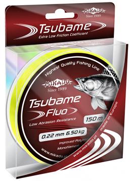Леска TSUBAME Fluo (Mikado), 150м, 0.20мм
