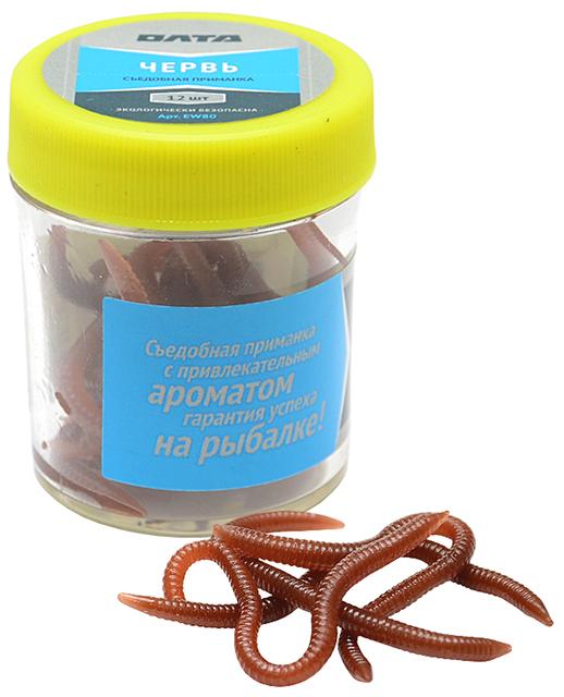 Искусственный съедобный червь (Олта), 12шт
