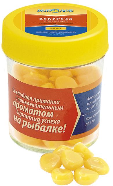Искусственная съедобная кукуруза (Рыболов), 40шт