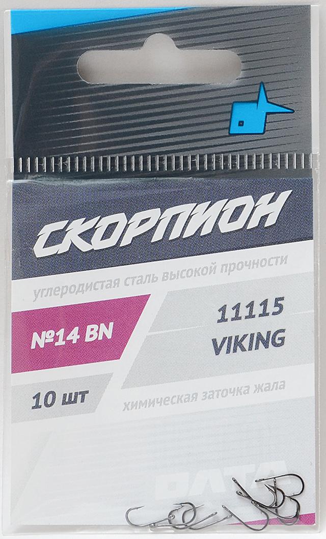 """Крючки """"Viking"""" (Скорпион), №14"""