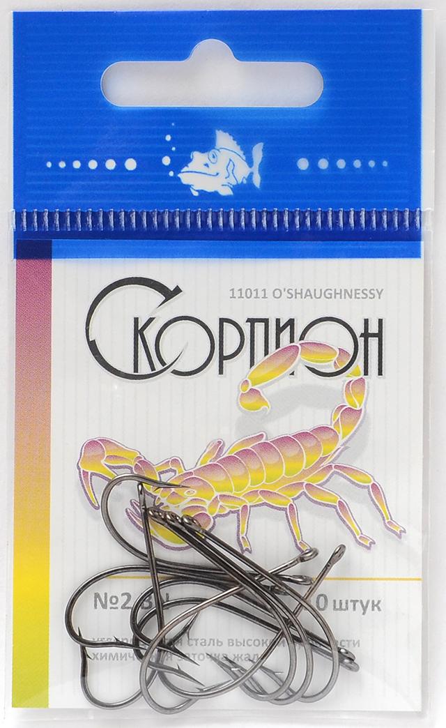 """Крючки """"O'Shaughnessy"""" (Скорпион), №2"""