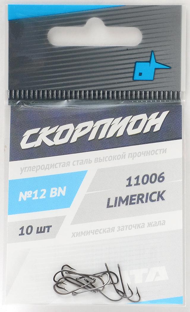 """Крючки """"Limerick"""" (Скорпион), №12"""