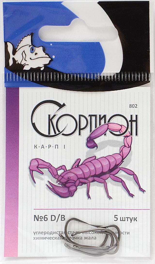 "Крючки ""Карп I"" (Скорпион), №6"