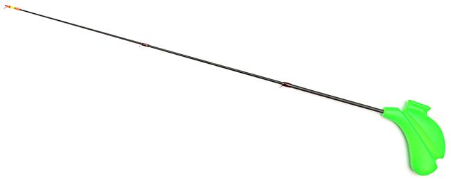 Удочка отвесного блеснения телескопическая (Bravo), шестик карбоновый