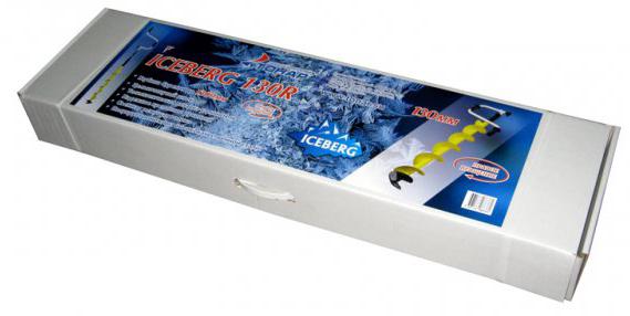 Ледобур ICEBERG-EURO 130R-1300 (правое вращение)