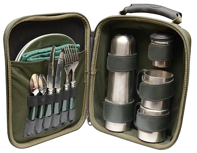Комплект посуды (Рыболов), 30x25x10см